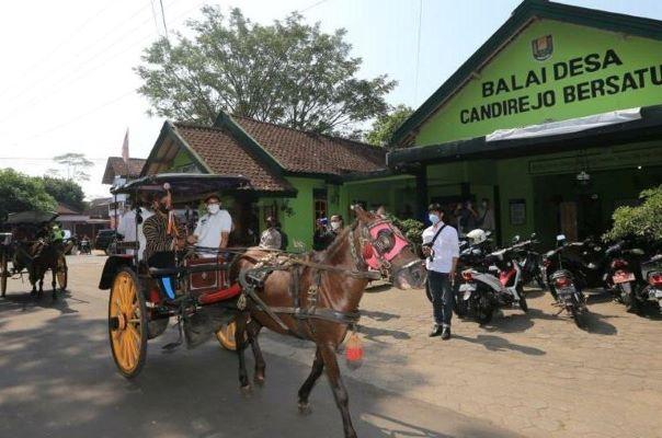 Promosikan ADWI 2021, Menparekraf Kunjungi Desa Candirejo, Magelang