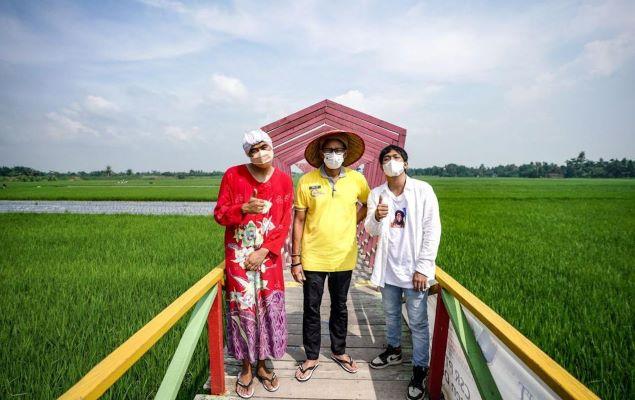 Masih Sosialisasikan ADWI 2021, Kini Menparekraf Kunjungi Desa Denai Lama, Deli Serdang