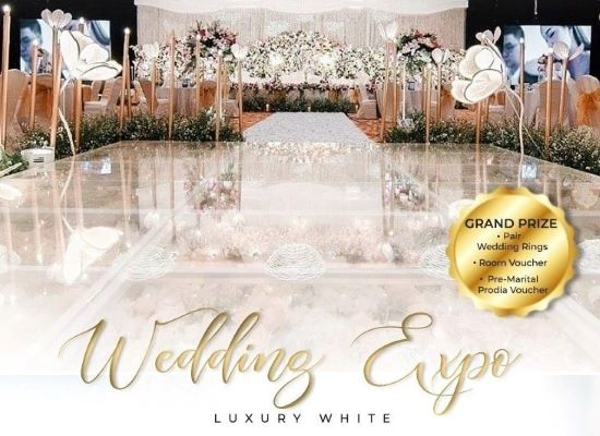 GRAND MERCURE JAKARTA KEMAYORAN GELAR LUXURY WHITE WEDDING EXPO
