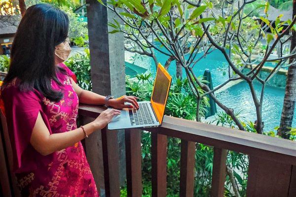 Menparekraf: Work From Bali Bukan  Pemicu Peningkatan Kasus COVID-19