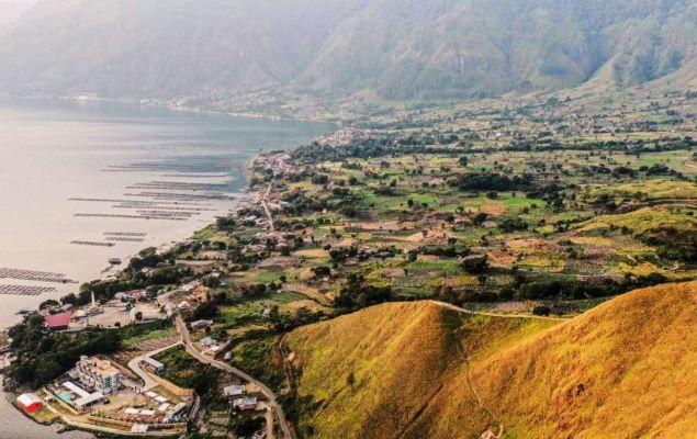 Menparekraf Resmikan Destinasi Baru di Danau Toba
