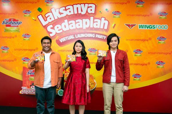 Mie Sedaap Hadirkan  Varian Selection Singapore Spicy Laksa