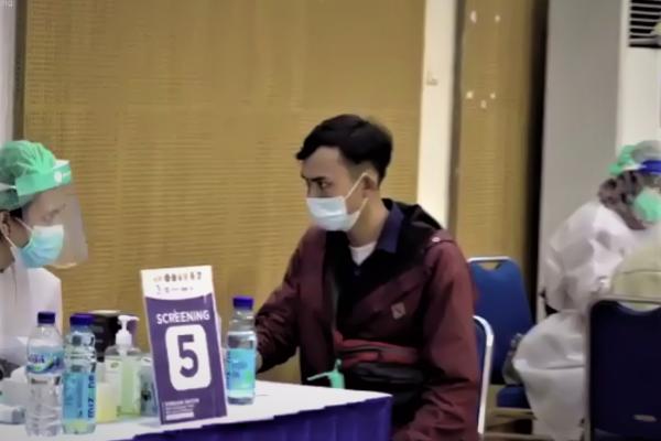 SESKO AU Lembang jadi Sentra Vaksinasi Pekerja Parekraf