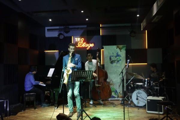 Chad Lefkowitz Sukses Pukau Penonton TP Jazz Festival 2017