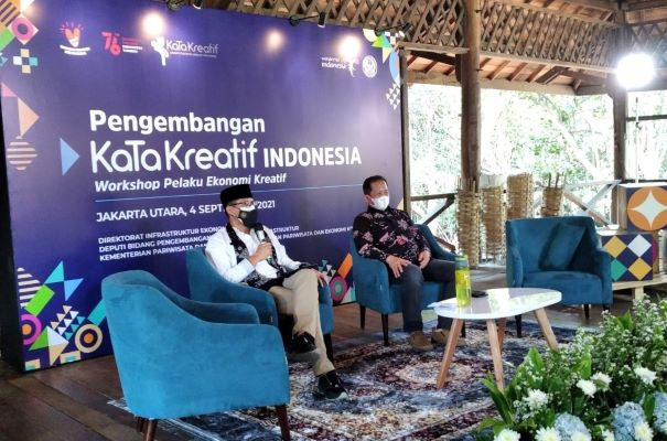 Menparekraf Sandiaga Uno Dorong Produk Ekraf Jadi Ikon Wisata di Jakarta Utara