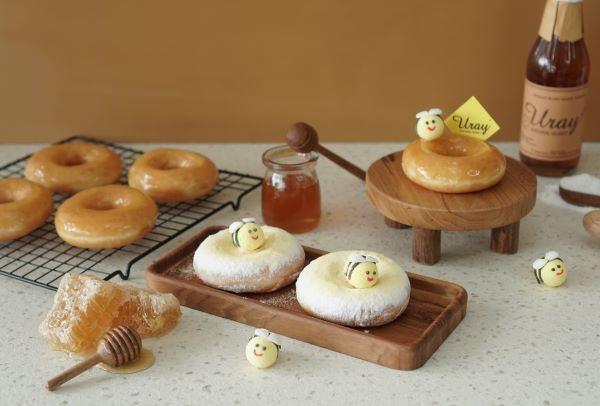 Krispy Kreme Berkolaborasi Dengan Madu Uray