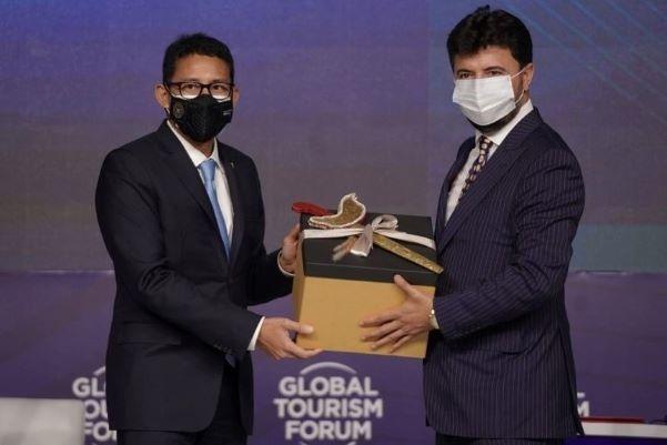 President World Tourism Forum Institute Puji Kebijakan Menparekaf Sandiaga Uno